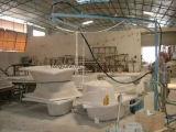 Máquina desbastada e de pulverização para fazer produtos de FRP