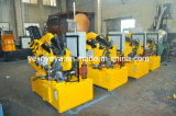 Máquina de estaca de alumínio de aço do ferro hidráulico da sucata Q08-100