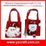 Decoração de Natal (ZY15Y086-1-2) Ornamento de feltro Enfeite de Natal