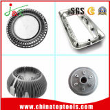 Customizedcasting разделяет алюминиевую заливку формы/заливку формы цинка