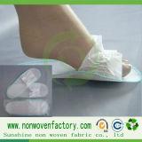 Tecidos não tecidos utilizados chinelos descartáveis, material de chinelos descartáveis