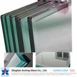 vetro temperato/Tempered della radura di 3-19mm con il foro/bordo