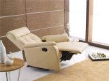余暇のイタリアの革ソファーの家具(773)