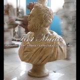 Busto antico del travertino per la decorazione domestica Ms-2000