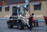 Carregador esperto da roda com o mini trator para a exploração agrícola