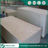 madera contrachapada comercial impermeable del pegamento de la melamina de 18m m