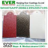 Vernice rossa del rivestimento della polvere del poliestere dell'epossidico di rivestimento di struttura lucertola/del coccodrillo