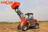 Le CE d'Everun marqué a articulé le mini chargeur de roue de 1.2 tonne