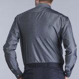 Кофта заводе питания высокого качества для измерения бизнес-мужчин на 100% натуральный хлопок рубашки одежды