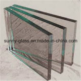 As escadas de vidro/moderaram as escadas de Laminted/vidro de vidro do edifício