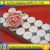Vente en gros de bougies de 14G White Tealight de Aoyin Factory