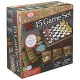 علاوة خشبيّة خزانة 15 لعبة مجموعة