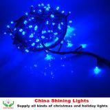 좋은 Quality Shining 10m 100LED Christmas String Lights Outdoor 또는 Indoor Use Waterproof Rubber 또는 PVC Wire All Colors Available