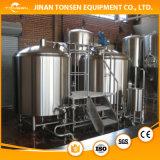 Usado na cerveja da cervejaria que faz o equipamento