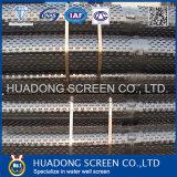 Schermo galvanizzato della scanalatura del ponticello del acciaio al carbonio