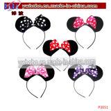 Weihnachtsgeschenk-Kaninchen-Bogen-Stirnband-Haar-Band Headwear (P3049)