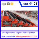 Séparateur magnétique de forte intensité humide pour le minerai, quartz, sable de silice