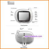 3.5インチLCD音楽プレーヤー及び温度の検出を用いる無線デジタルの赤ん坊のモニタ