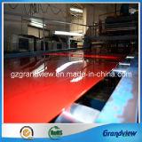Rouge feuille acrylique extrudé pour panneau publicitaire