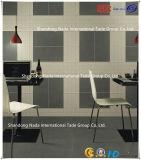 600X600建築材料ISO9001及びISO14000の陶磁器の白いボディ吸収1-3%の床タイル(G60705+G60702)