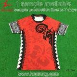 Sublimação completa personalizada qualquer camisa de futebol Rugby Jersey