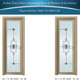 室内装飾のためのアルミニウムによって蝶番を付けられるドア