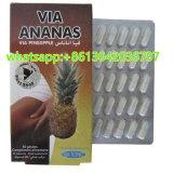 Alimentation Naturelle pilule Via Ananas la perte de poids Slimming Capsules