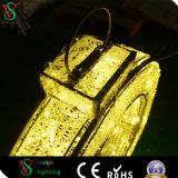 Luz ao ar livre do diodo emissor de luz 3D do ABS para a decoração do edifício do Natal