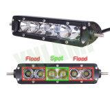 barre d'éclairage LED de CREE de 7inch 30W IP67 pour la jeep SUV