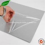 Película protetora de vidro de alumínio transparente de película protetora do LDPE