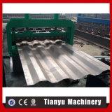 Materiales de construcción de la estructura de acero cubiertas de techo de metal enrolladora