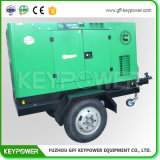 50kw gerador diesel de Reboque Tipo silenciosa