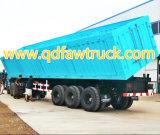 Goede Kwaliteit 3 Aanhangwagen van de Stortplaats van Assen de Zij, steenkoolaanhangwagen 100t