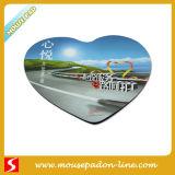 Forme de coeur Le tapis de souris personnalisés (A060)