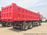 12高いウェイト容量の車輪のSinotruk HOWOのダンプトラック