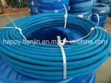 Câmara de ar de borracha resistente alinhada UHMW ácida da tubulação de mangueira dos produtos químicos do alcalóide