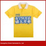 Camisetas promocionales modificadas para requisitos particulares del polo del algodón polivinílico de la buena calidad (P178)