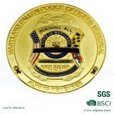 Изготовленный на заказ монетка металла с логосом 3D для сувенира