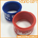 Braccialetto su ordinazione di schiaffo del silicone per l'intera vendita (YB-SW-62)