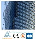 A melhor extrusão 6063-T5 de alumínio de venda/perfil de vidro da parede de cortina