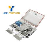 Sc/APC 접합기를 가진 옥외 16 섬유 FTTH 상자 배급 상자