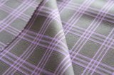 Tela teñida hilado, tela de la tela escocesa para la ropa, poliester 29%Rayon 3%Spandex, 210g/Sm del 68%