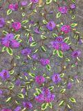 Новая ткань шнурка вышивки цветка конструкции для одежд женщин