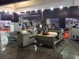 木製の切断および彫版のための木工業機械装置3の軸線CNCのルーター