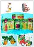Matériaux d'emballage de jus et de lait dans des Rolls