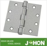 """ベアリングドアの鋼鉄か鉄のハードウェアのヒンジ(4.5 """" X4.5 """"鋼鉄または鉄のアクセサリ)"""