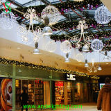 Buntes Kugel-Licht des Zeichenkette-Licht-Weihnachtenled