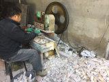 10*40cm 호리호리한 까만 규암 자연적인 접착제로 붙ㄴ 겹쳐 쌓인 돌 Hhsc10X40-007