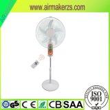 16inch 12V elektrischer nachladbarer Luft-Kühlvorrichtung-Solarventilator mit Licht