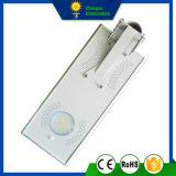 15W Todo en Uno Lámpara de luz solar de la calle del panel del LED
